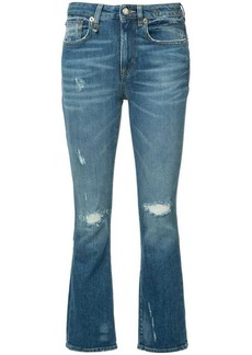 R13 flared jeans