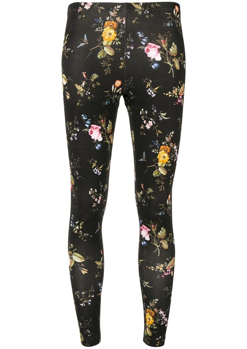 R13 floral print leggings