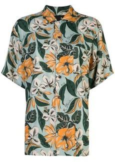 R13 floral print shirt