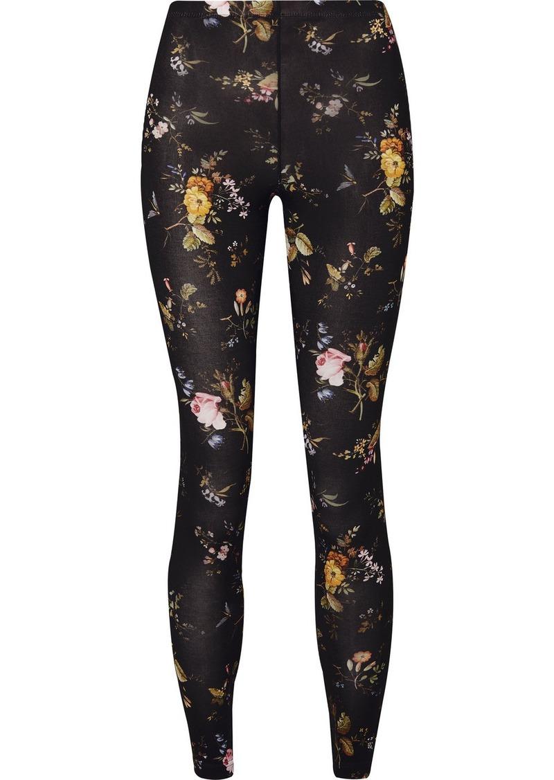 R13 Floral-print Stretch-jersey Leggings