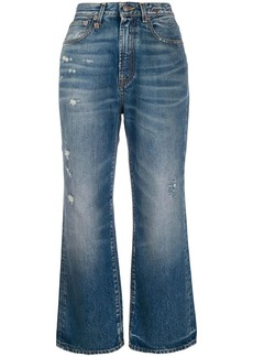 R13 high rise Riley jeans