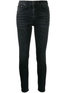 R13 high waisted jeans