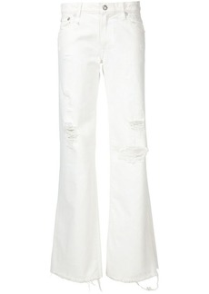 R13 'Jane' frayed jeans