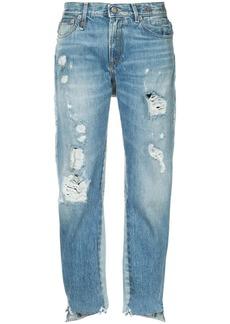 R13 Keaton double back jeans