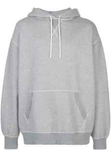 R13 long sleeve drawstring hoodie