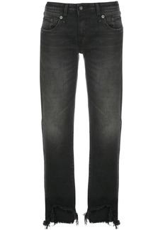 R13 Maura straight leg jeans