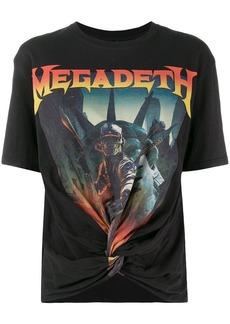R13 Megadeth knot T-shirt
