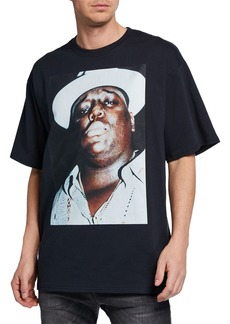 R13 Men's Notorious B.I.G.  Oversized T-Shirt