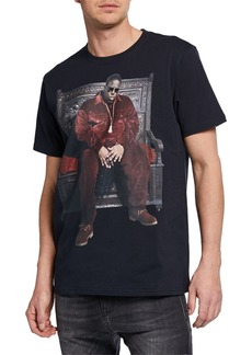 R13 Men's Notorious B.I.G. Throne Curtis Graphic T-Shirt