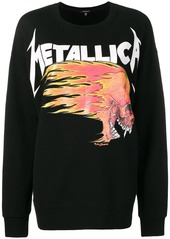 R13 Metallica printed sweatshirt