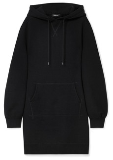 R13 Oversized Hooded Cotton-blend Jersey Dress