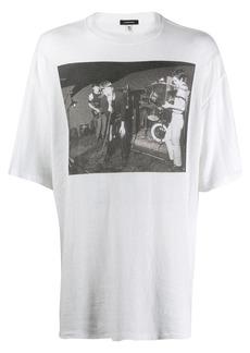 R13 photographic print T-shirt