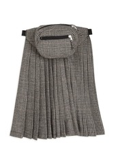 R13 Pleated Skirt Panel Fanny Pack