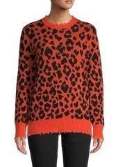 R13 Printed Cashmere Sweatshirt
