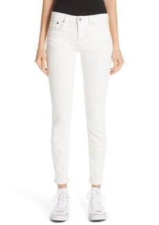 R13 Allison Distressed Skinny Jeans (Garret White)