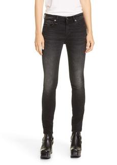 R13 Allison Skinny Jeans (Maura Black)