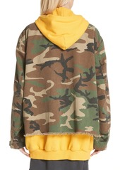 a71c34172128c R13 R13 Camo Abu Jacket with Long Hoodie | Outerwear