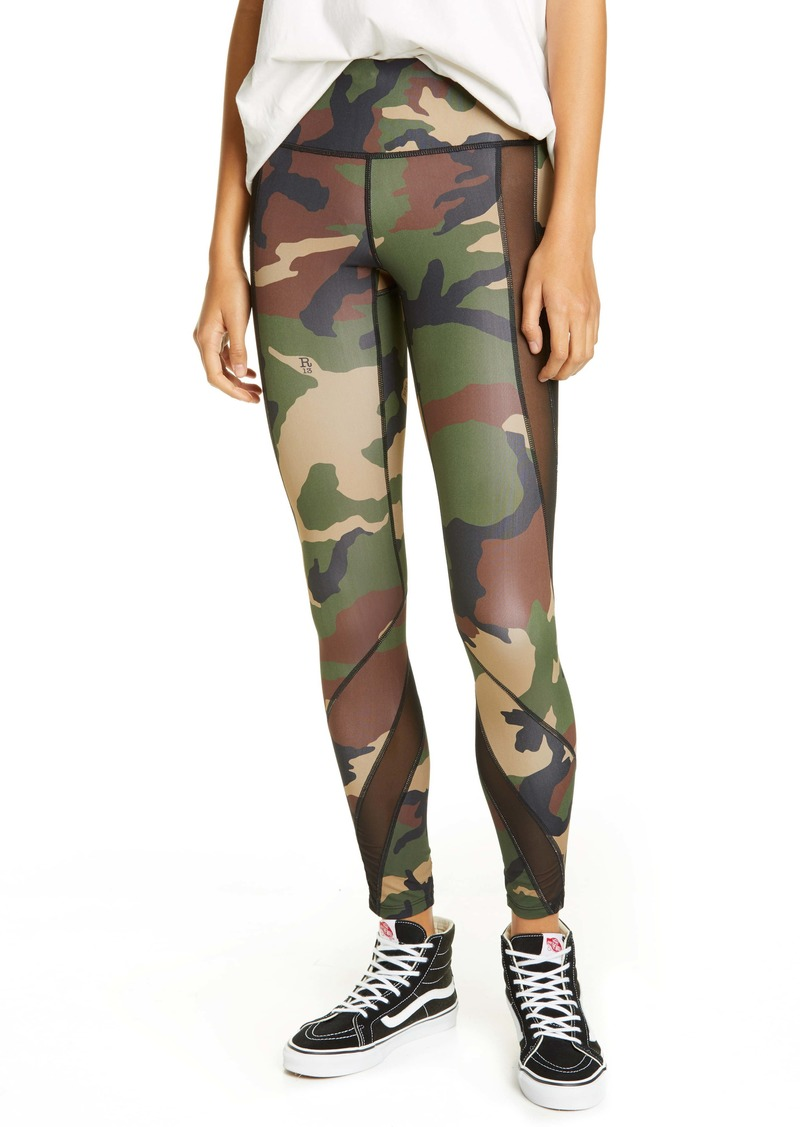 R13 Camo Print Leggings