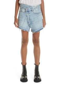 R13 Crossover Denim Shorts (Tilly with Let)