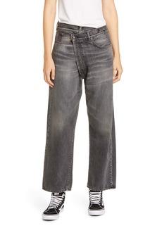R13 Crossover Jeans (Leyton Black)