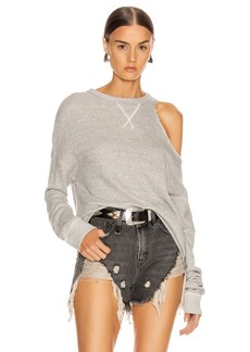 R13 Distorted Sweatshirt