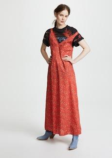 R13 Long Slip Dress