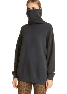 R13 MaskUp Face Mask French Terry Sweatshirt