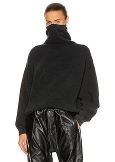 R13 #Maskup Vintage Fleece Sweatshirt
