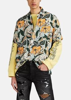 R13 Men's Hawaiian Floral Camp Shirt