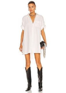 R13 Oversized Boxy Button Up Dress