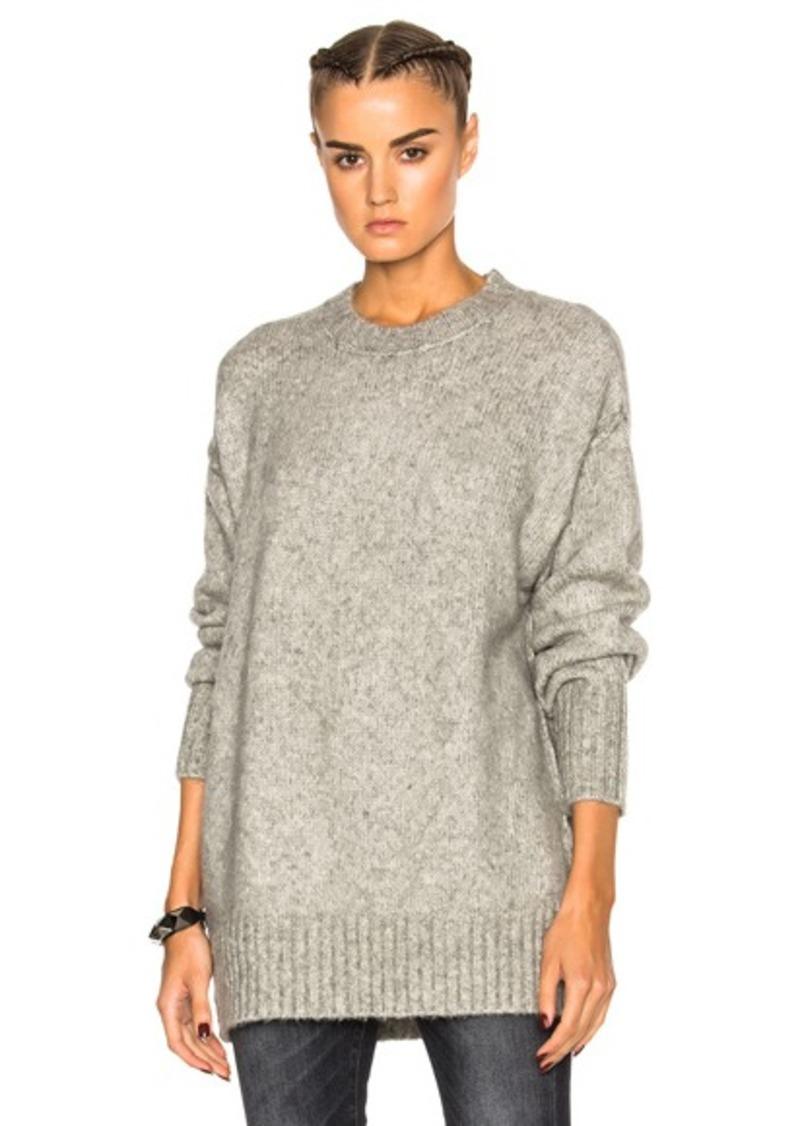 R13 Oversized Crewneck Sweater