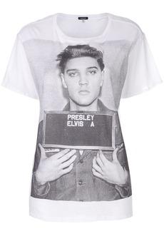R13 oversized Elvis mugshot T-shirt