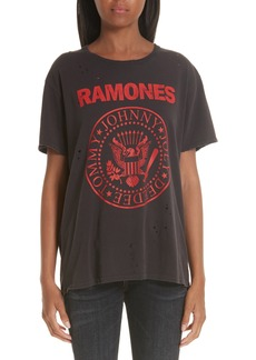 R13 Ramones Print Tee