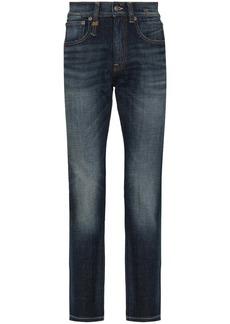 R13 Skate slim leg jeans