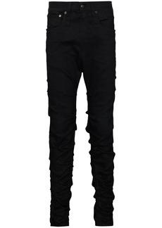 R13 Skywalker wrinkle-effect jeans