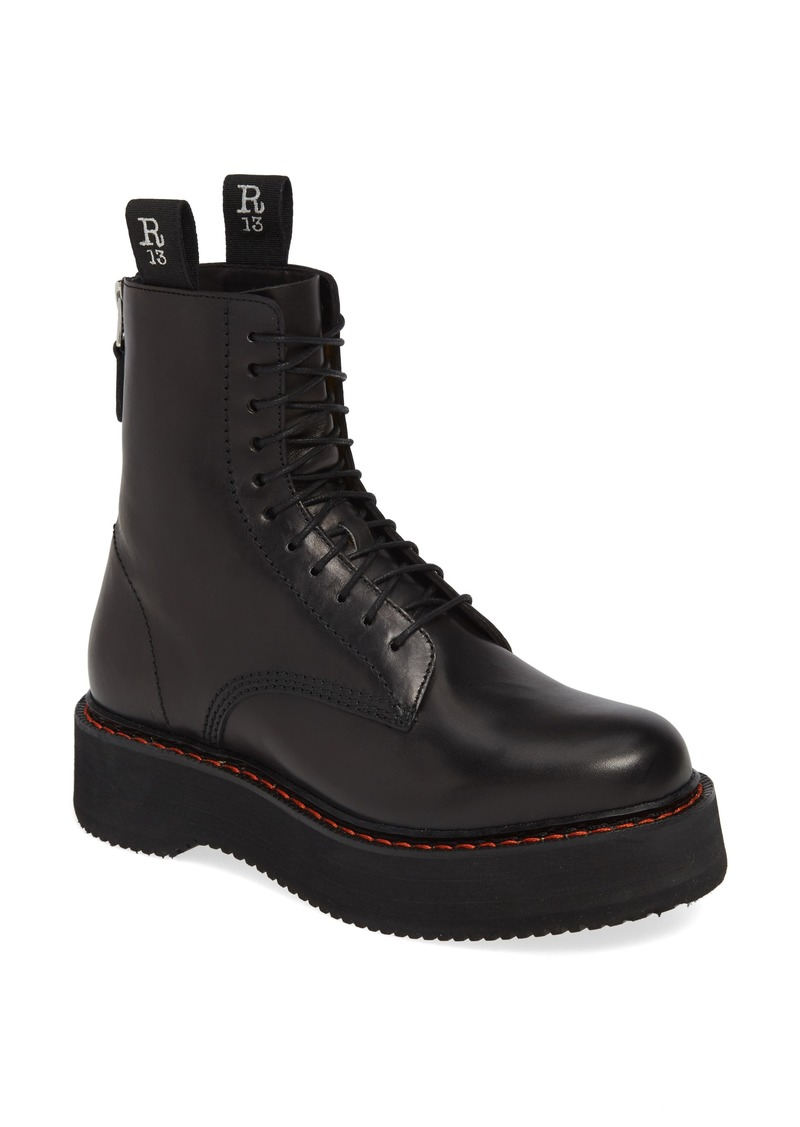 R13 Stack Platform Boot (Women)