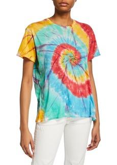 R13 Tie-Dye Rainbow Boy Tee