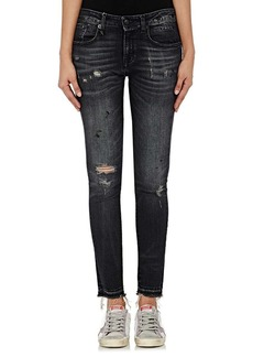R13 Women's Alison Skinny Distressed Jeans
