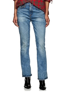 R13 Women's Caddy Mid-Rise Crop Jeans