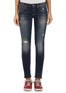 R13 Women's Kate Skinny Distressed Jeans