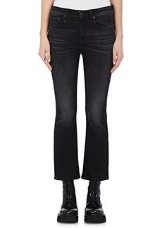 R13 Women's Kick Fit Crop Jeans