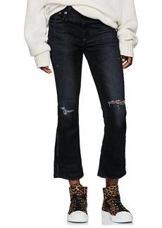 R13 Women's Kick Fit Mid-Rise Jeans