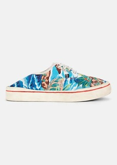 R13 Women's Printed Canvas Sneakers