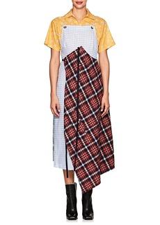 R13 Women's Silk-Blend Patchwork Apron Dress