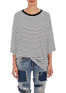 R13 Women's Striped Oversized T-Shirt