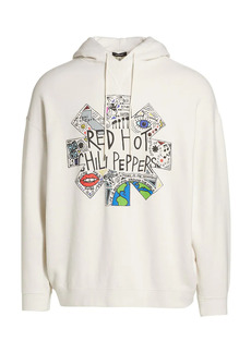 R13 Red Hot Chilli Peppers Oversized Hoodie