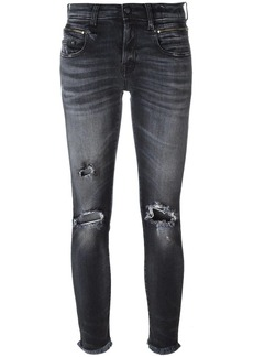 R13 ripped jeans