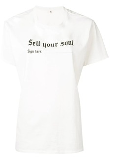 R13 'Sell your soul' T-shirt