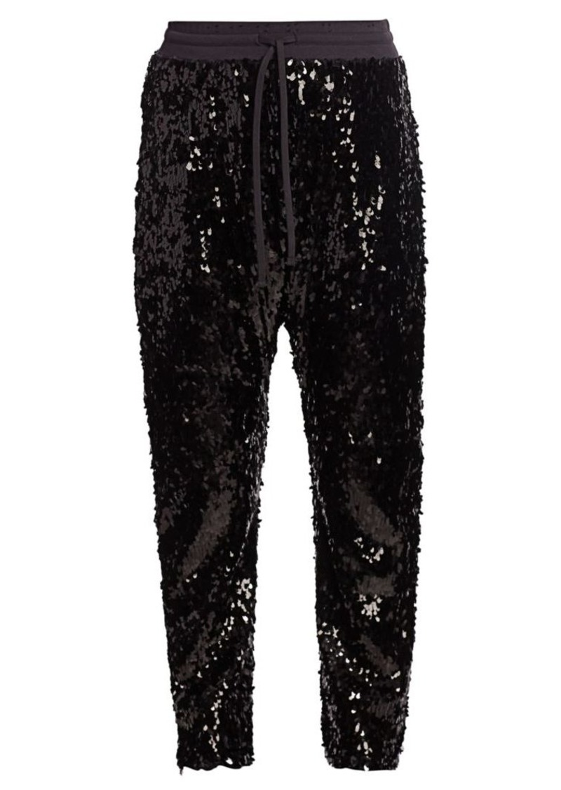 R13 Sequin Sweatpants
