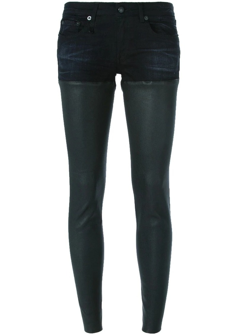 R13 short and legging combo